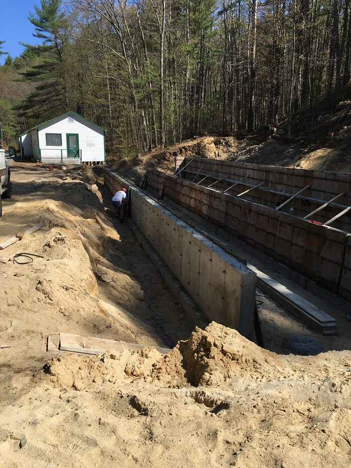 Construction began on boys bunks 5 and 6